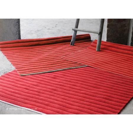 Rope Red Rug