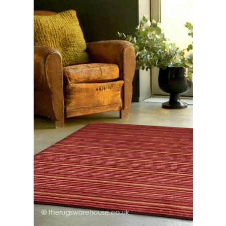 Seasons Red Rug