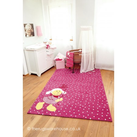 Schnuggi Pink Rug