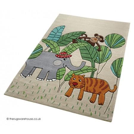 Jungle Friends Rug