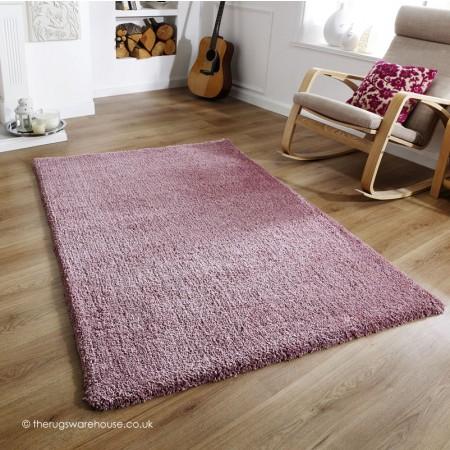 Softness Mauve Rug Purple Rugs