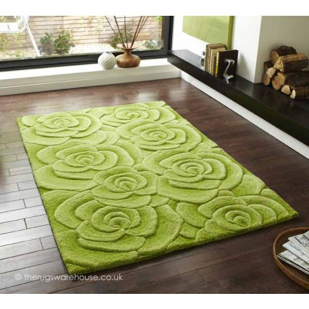Valentine Green Rug