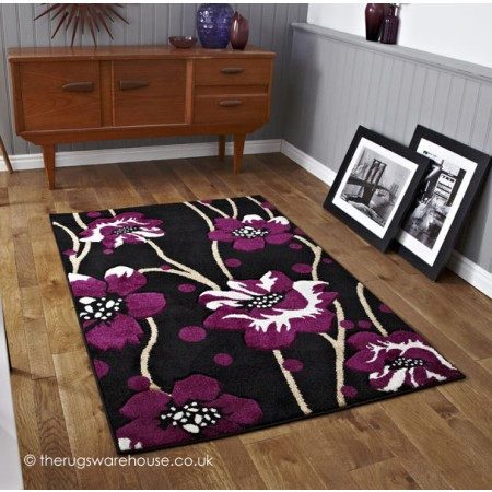 Cayenne Purple Rug