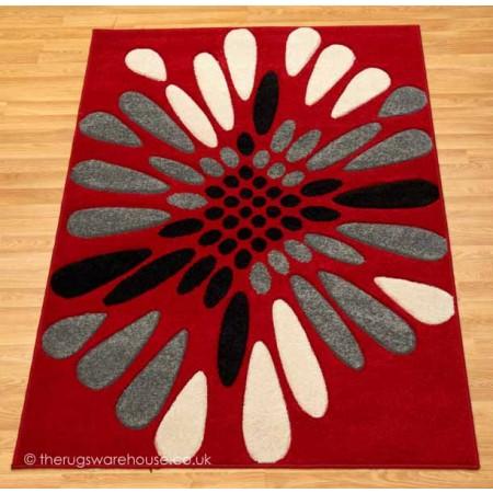 Viola Red 160x230cm