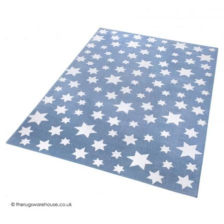 Jeans Star Blue Rug