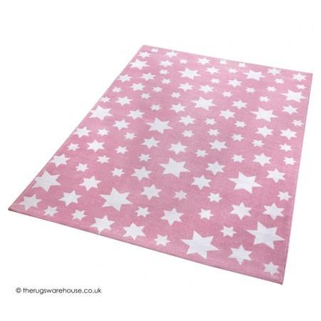 Jeans Star Pink Rug