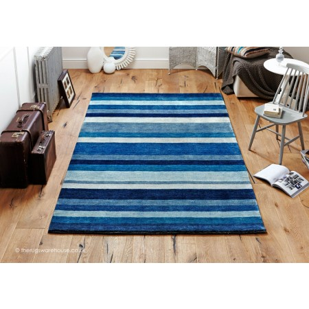Winslow Stripe Blue Rug