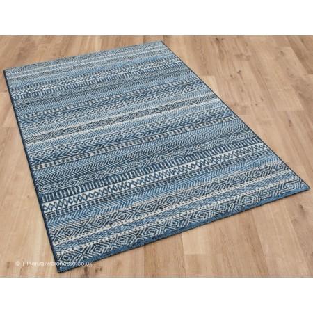 Woodstock Lancer Blue Rug