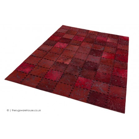 Xylo Red Stitch Rug