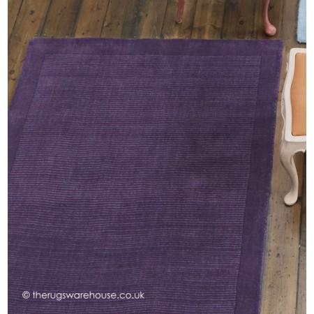 York Purple Rug