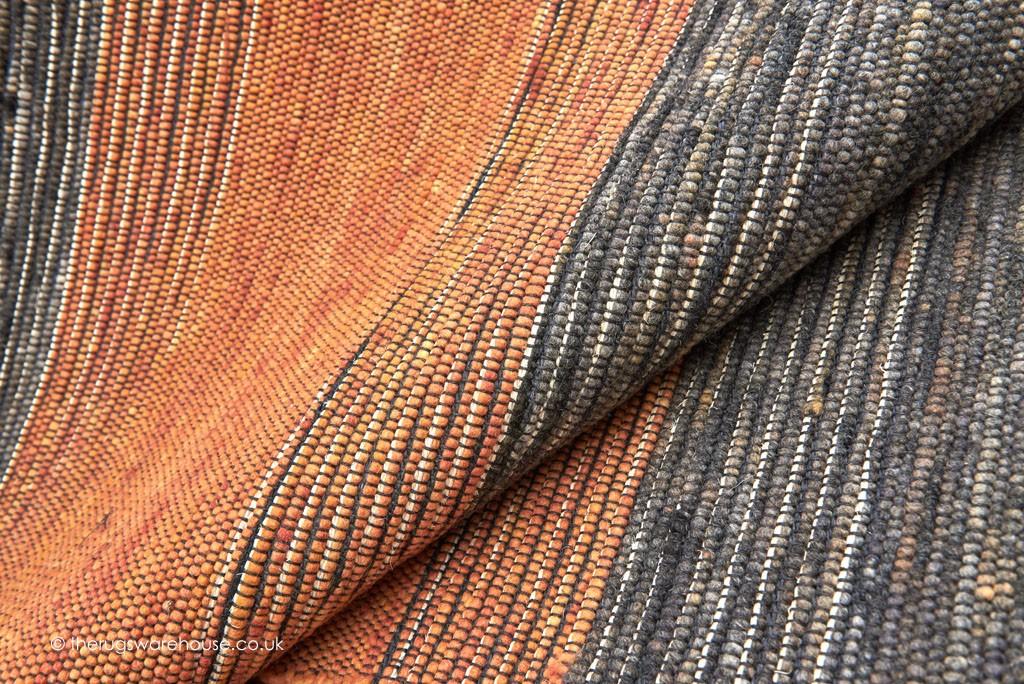Tiko Stripes Orange Rug Africa Design Rugs Modern Rugs