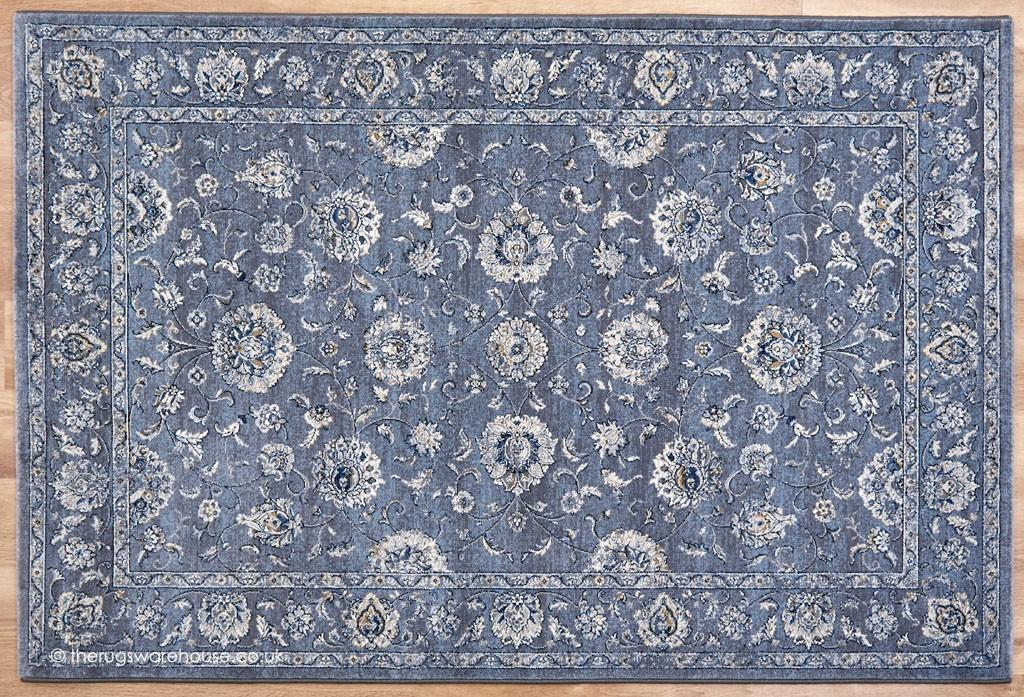 luciana blue grey rug. Black Bedroom Furniture Sets. Home Design Ideas