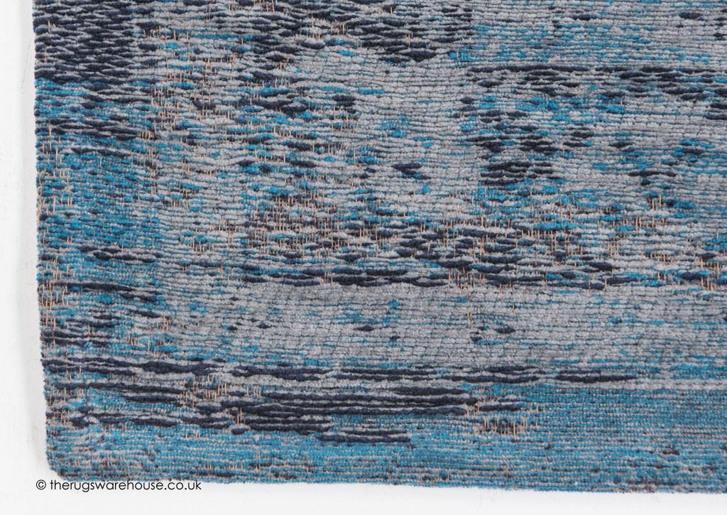 Grey Turquoise Rug