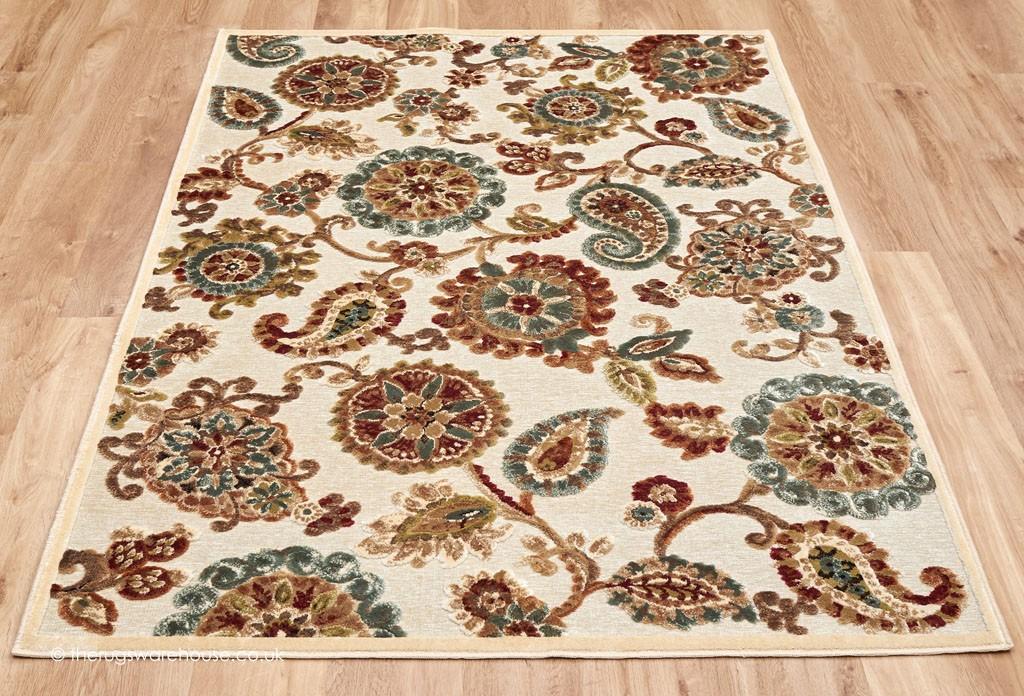 Clarton Rug Floral Rugs