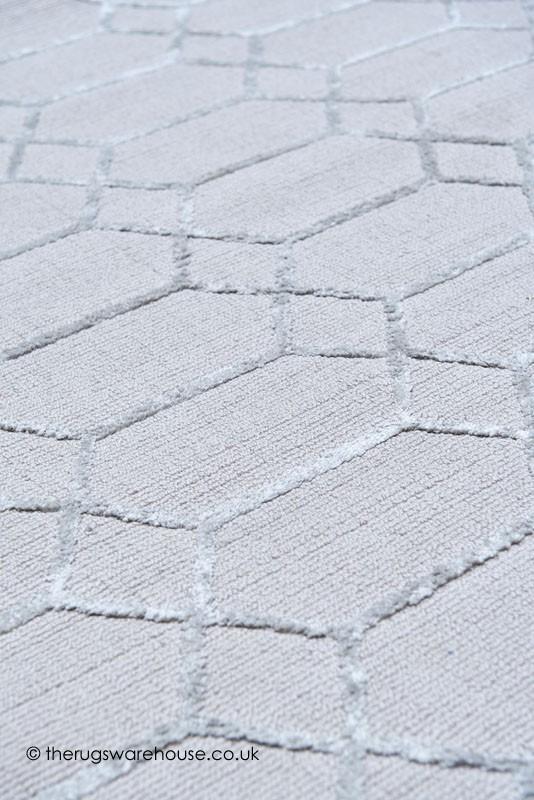 Koko Silver Rug - Silver Grey Rugs