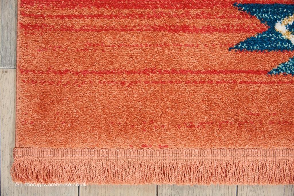 Navajo Orange Mix Rug Orange Terracotta Rugs