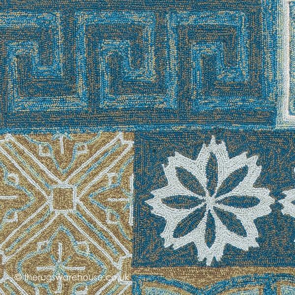 namada blue rug outdoor rugs modern rugs. Black Bedroom Furniture Sets. Home Design Ideas
