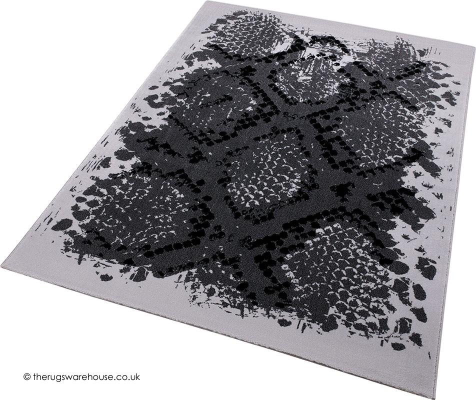 Animal Print Rug Grey: Animal Print Rugs