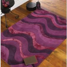 Saria Purple Rug