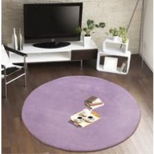 Comfort Lilac Circle Rug