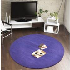 Comfort Purple Circle Rug