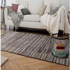 Corso Stripes Brown Rug