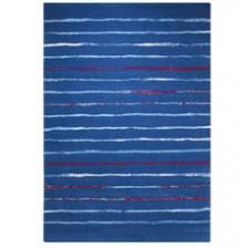 Joyful Stripes Blue Rug