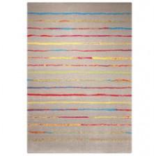 Joyful Stripes Brown Rug