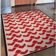 Bauhaus Red Rug