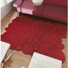 Circles Red Rug
