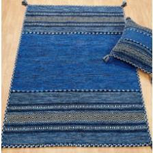 Kelim Blue Rug