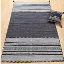 Kelim Charcoal Rug
