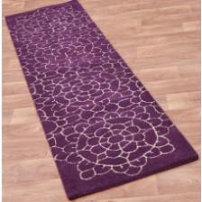 Crochet Purple Runner