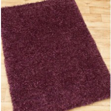 Purple Ribbon Rug