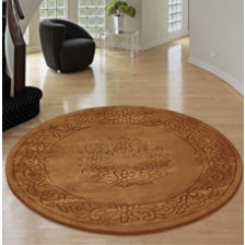 Royale Bronze Circle Rug