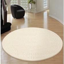 Royale Ivory Circle Rug