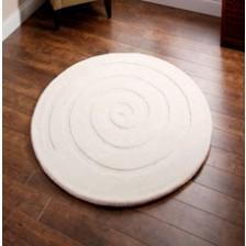 Spiral Ivory Rug