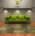Antalya Green Rug