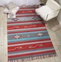 Baja Stripes Red Rug