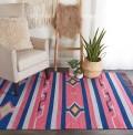 Baja Stripes Pink Rug