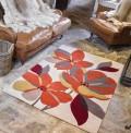 Phlox Terracotta Rug