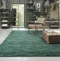 Pinstripe Green Rug