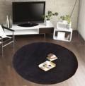 Comfort Black Circle Rug