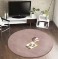 Comfort Taupe Circle Rug