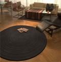 Eden Choco Circle Rug