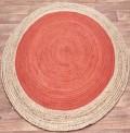 Faro Rust Circle Rug