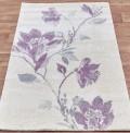 Flowers Purple Rug