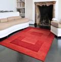 Gabbeh Modern Red Rug