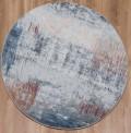 Trident Grey Circle Rug
