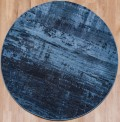 Waiko Blue Circle Rug